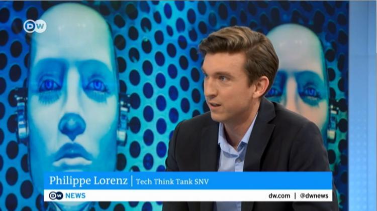 Philippe Lorenz bei DW News